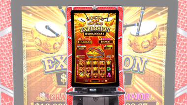 Dancing Drums Explosion slot machine