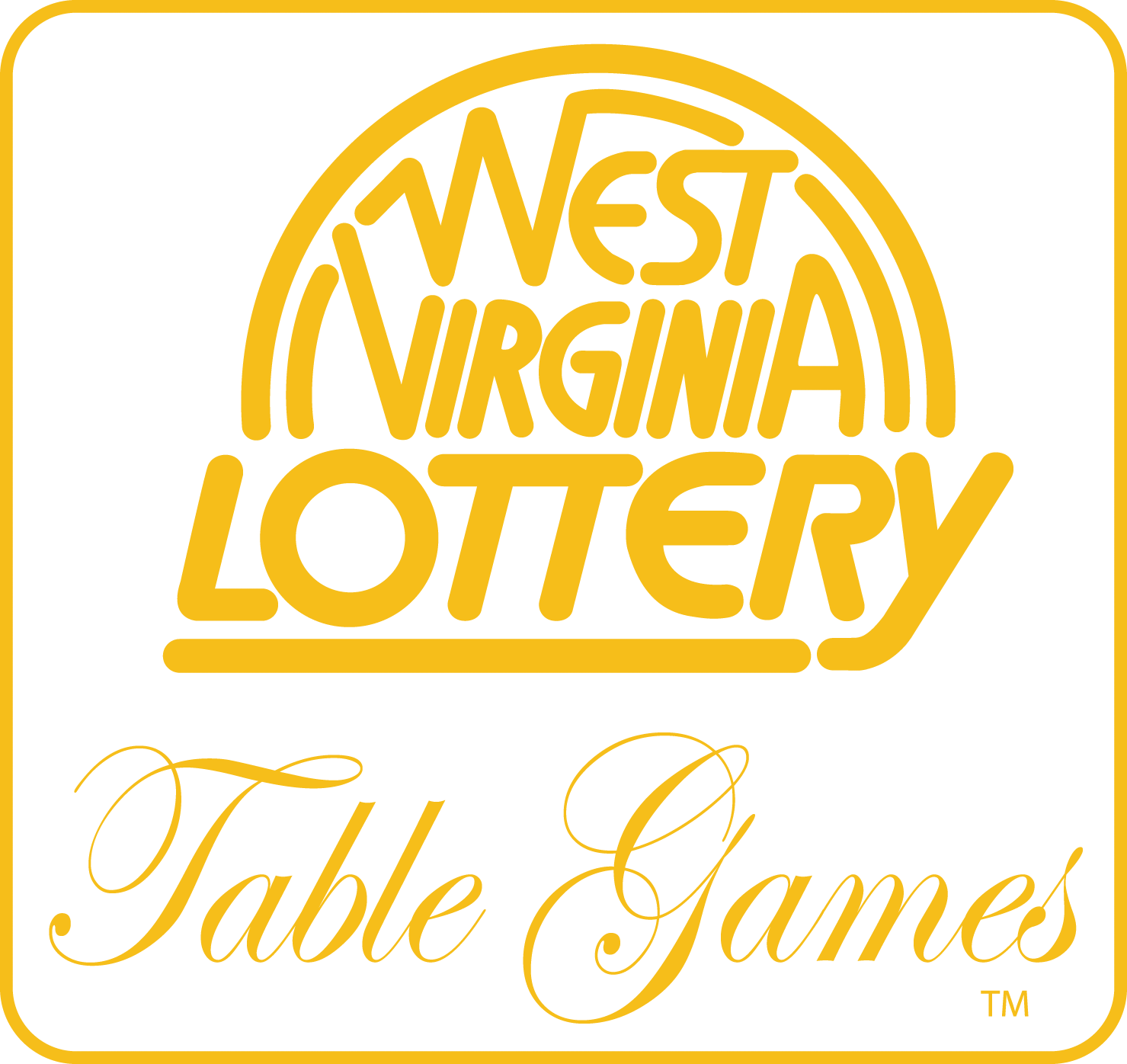 West Virginia Lottery Table Games logo