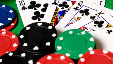 Table Games Poker Cards Chips
