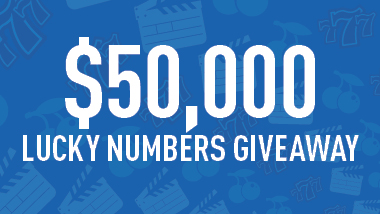 $50,000 Lucky Numbers Giveaway at Hollywood Casino at Charles Town Races.
